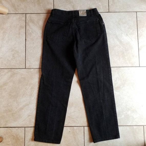 Vintage 90's black Mom Jeans high waisted size 32