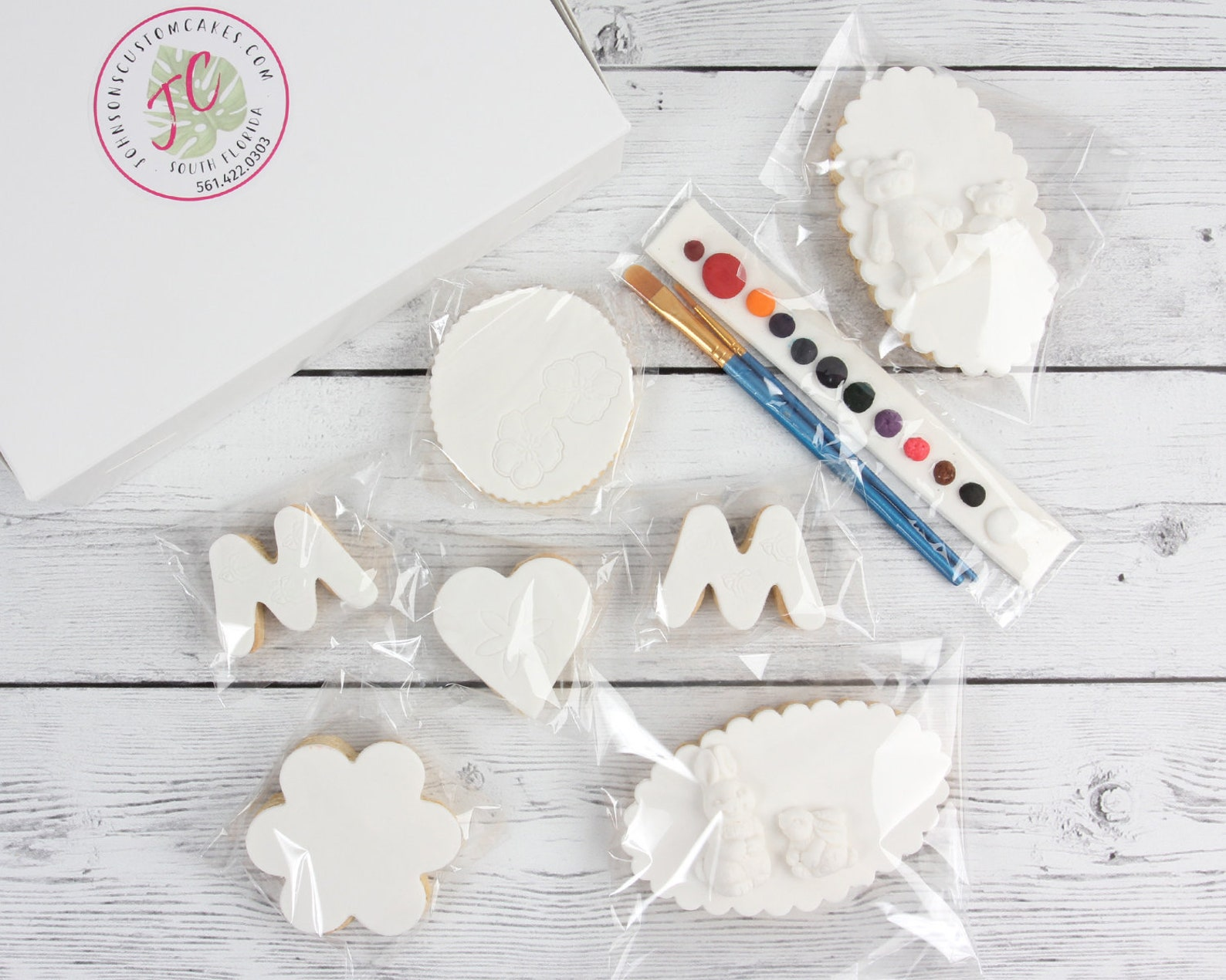 Decorate and Paint Your Own Mothers Day Cookies