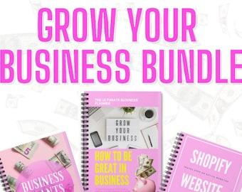 Grow Your Online Business Ebook Bundle, E-commerce Ebooks, Online Business Ebooks
