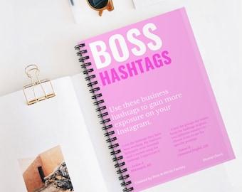 300 Viral Boss Hashtags, Business Growth Hacks, Instagram Hashtags