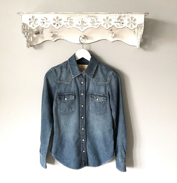 Women's Levi's Classic Tailored Western Shirt