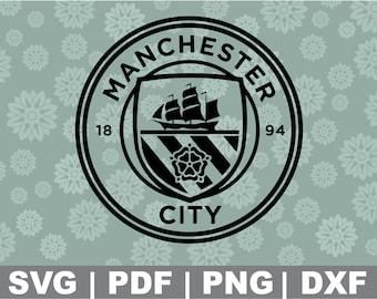 Manchester City Svg Etsy