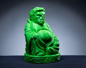 HULK BUDDHA 3D Print Figure Marvel Avengers 3D Print Sculpture