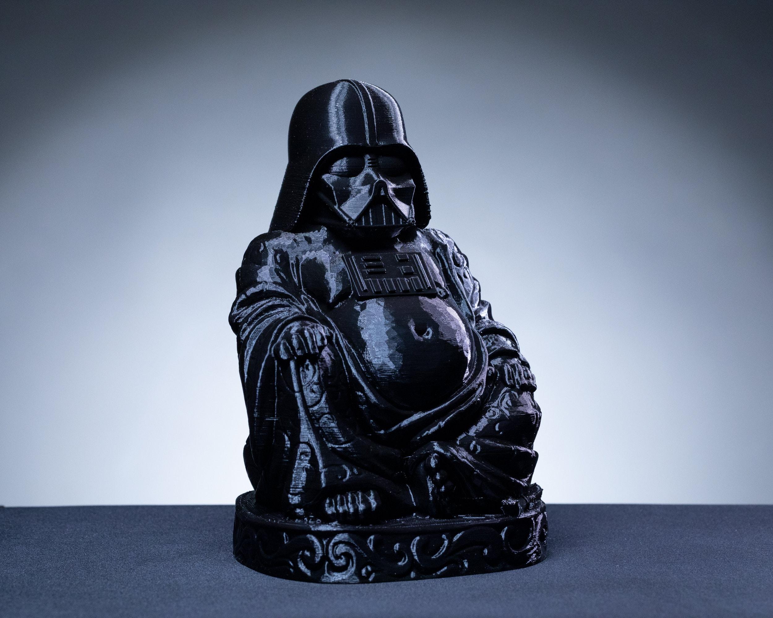 DARTH VADER BUDDHA 3D Print Figure Star Wars 3D Print Sculpture