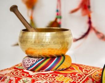 "SALE END TOnight!Tibetan 4"" Hand Beaten  Hammering Singing bowls for sound healing, meditation, yoga and charka balancing"