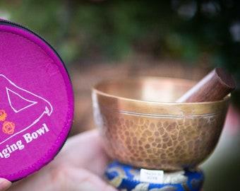 "SALE END TOnight!Tibetan 5"" Gift set Handhammering  Singingbowls for sound healing, meditation, yoga and charka balancing"