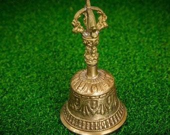 SALE END TOnight!Tibetan Pure Handmade 7 metals Bell for Meditation, Yoga, Chakra
