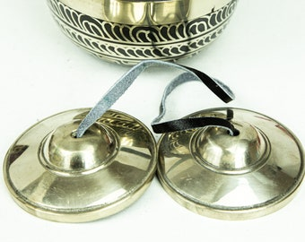 """SALE END TOnight!Tibetan 3"""" Handmade 7 metals Tingsha  - Best sound and best Quality Cymbals Meditation Yoga  Tingsha Meditation Yoga"""