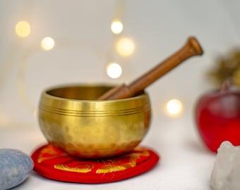 "SALE END TOnight!Tibetan 3"" Handhammering  Singingbowls for sound healing, meditation, yoga and charka balancing et"
