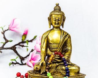 SALE END TOnight!Buddha Amitabha Rare Pure, Intricately Detailed Statues, Decoration, Pray, Yoga, Buddish