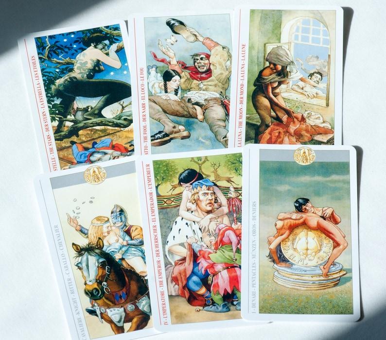 STYLECASTER |  Cartas de tarô eróticas