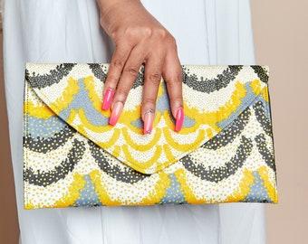 African print clutch purse, ankara clutch purse, african envelope purse, african purses for women,