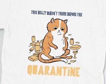 Relatable Cat Quarantine Short-Sleeve Unisex T-Shirt