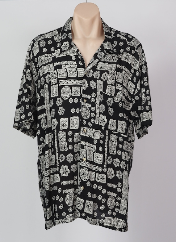 Size XL tiki Hawaiian Vintage shirt
