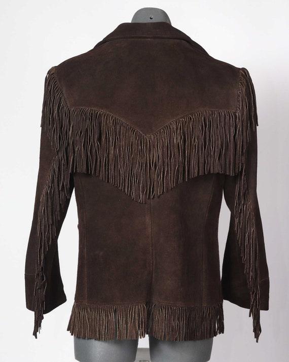 Suede fringed 70's Western Jacket