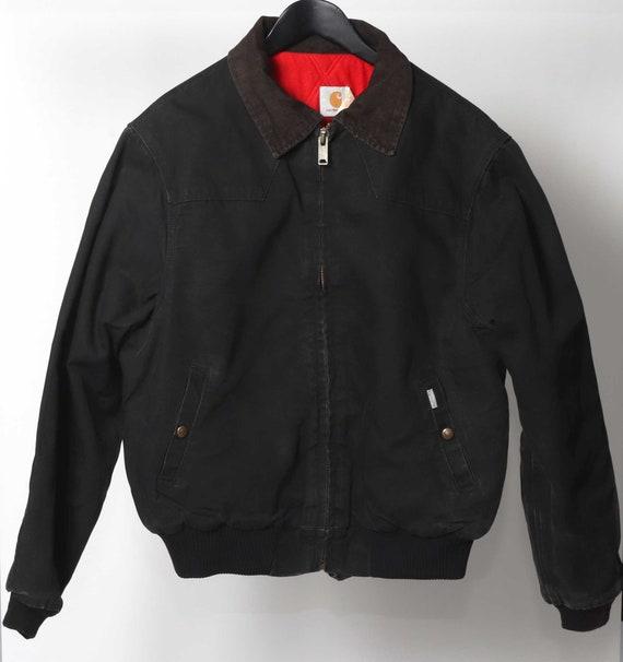 Vintage Carhartt L black  bomber jacket