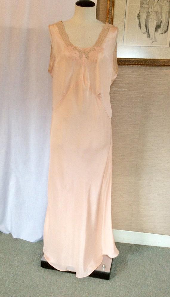 Vintage 30s Bias Nightgown