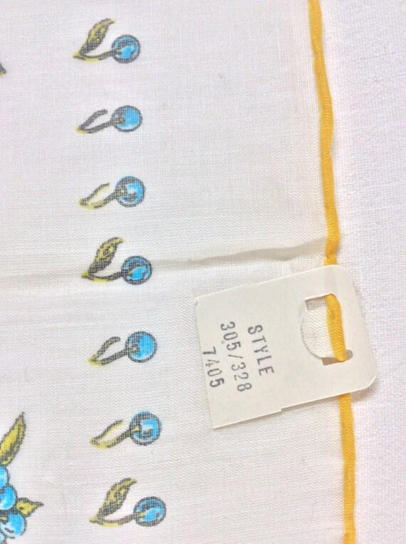 Vintage 70s Gucci Cotton Handkerchief - image 8