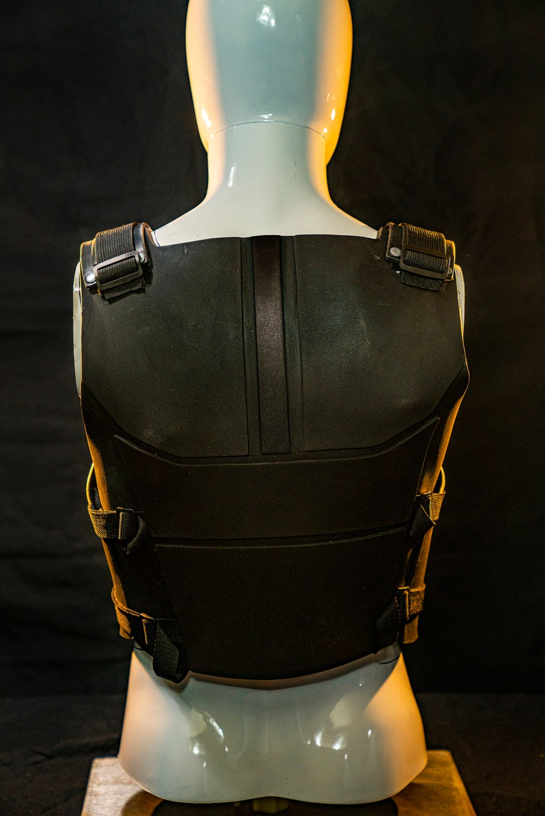 Tactical Black Armor Vest YGO0cJmo