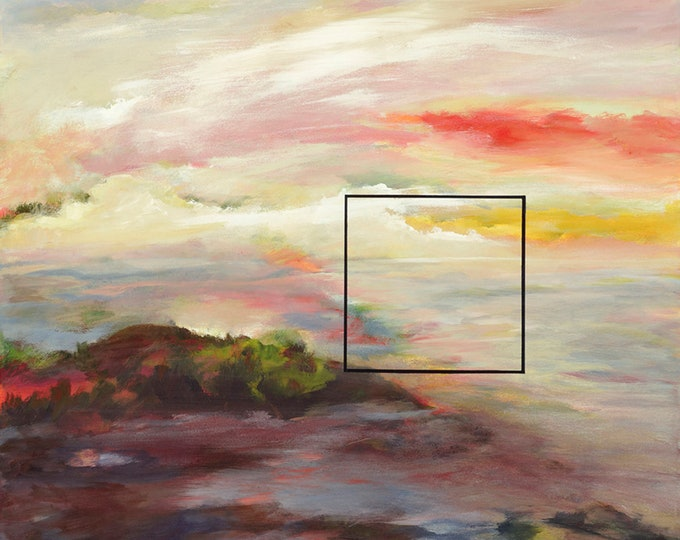 Revision   Archival Print, Contemporary , Abstract, Semi-Abstract, Landscape Artwork