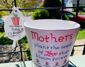 Mother s Day Planter Pot GIFT Ships Next Day