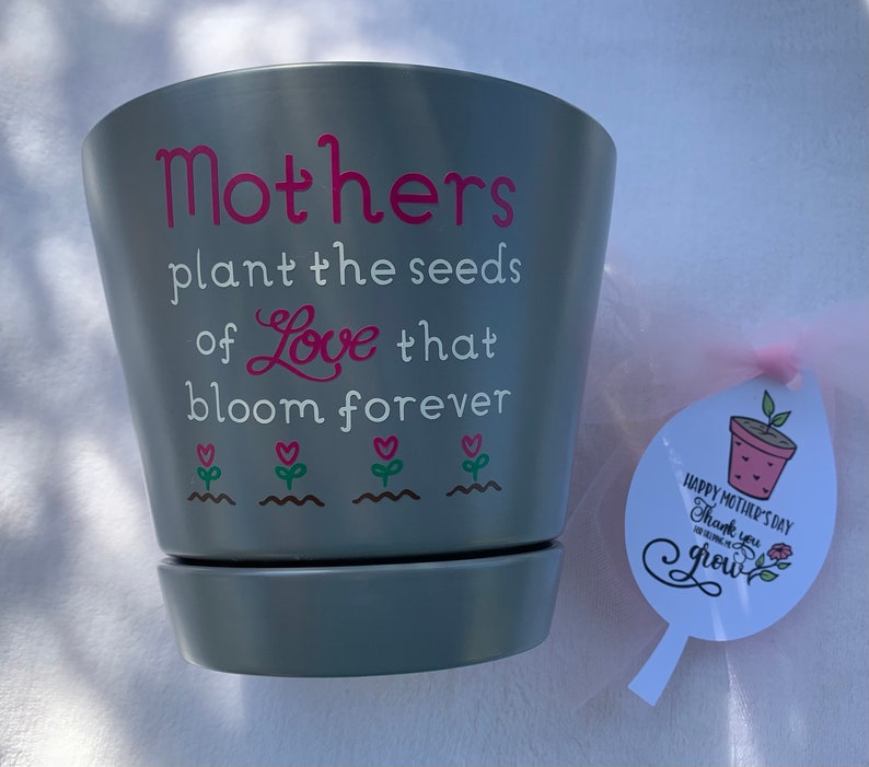 Mother's Day Plant Pot Gift