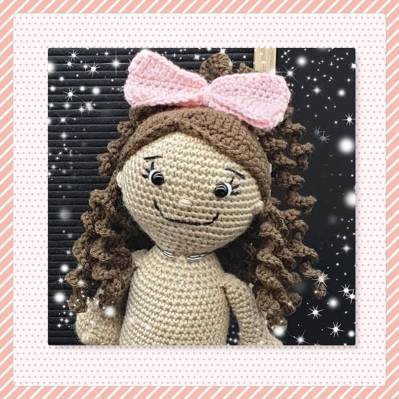 Alaina's Curly Hair Cap image 0