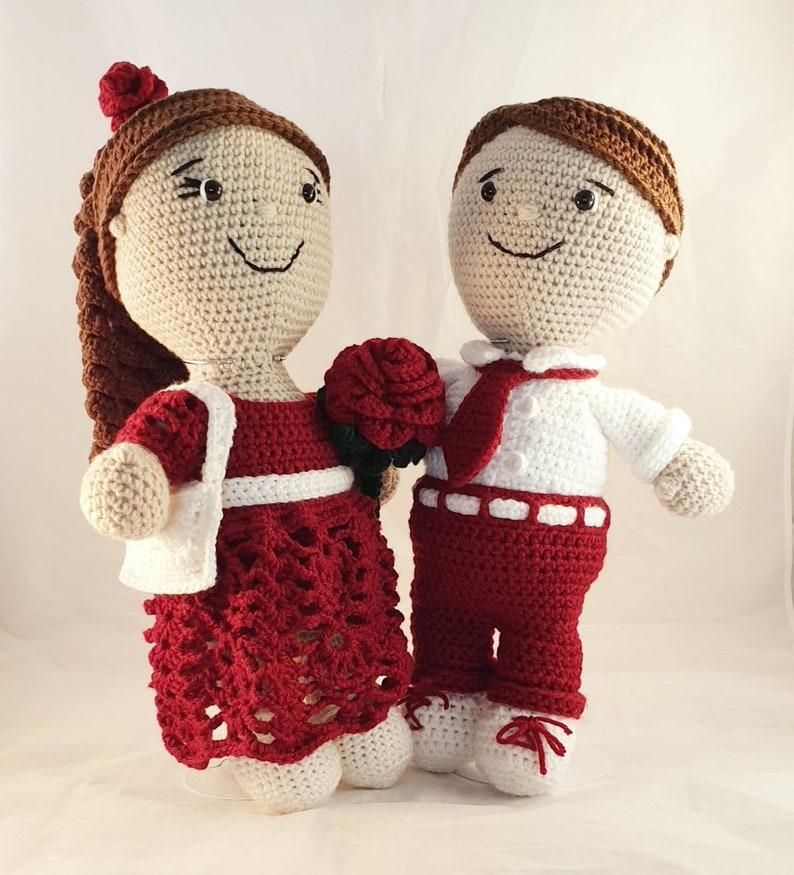 Valentines MISSY & MYLES Dolls with Accessories image 0