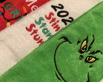 Grinch Bathroom Etsy