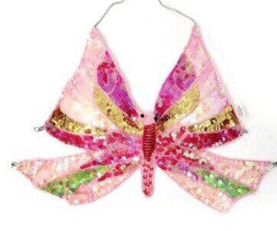 Pink butterfly top