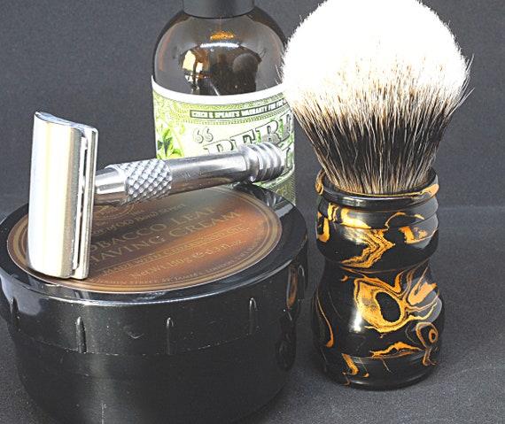 Shaving brush »Napoli«, Handmade, Ebonite, from 77,00 EUR