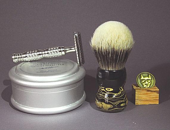 Shaving brush »Wien«, handmade from Ebonit, from 82,00 EUR