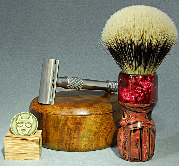 Shaving brush »Berlin«, handmade from ebonit and synthetic resin, from 82.00 EUR