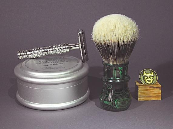 Shaving brush »Nizza«, handmade from Ebonit, from 82,00 EUR