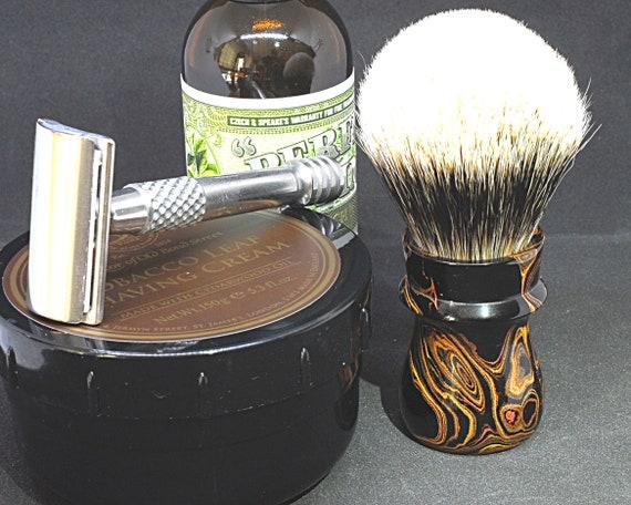 Shaving brush »Basel«, handmade from Ebonit, from 82,00 EUR