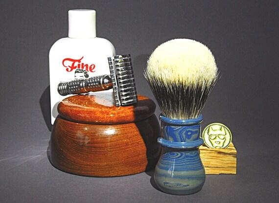 Shaving brush »Amsterdam«, handmade from Ebonit, from 82.00 EUR