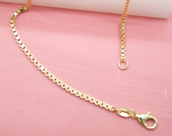 2mm  Gold Chain W// 6mm Round Acrylic Beads Link- Bulk By the Foot NEW CH 106