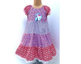 Dress Summer Dress Cotton Dress Swivel Dress Fixed Dress Step Dress Unicorn Unicorn Dress