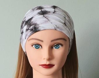 Extra Wide Headband, Soft, Stretchy Headband, Tie Dye Headband, Hippie Headband, Chemo Headband, Ladies Headband, Headband For Dreadlocks