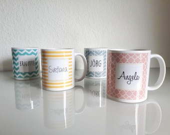 Thank You Cup - Mug Gift | Best Mother, Best Father, Best Sister, Best Granny, Best Friend, Best Groomswoman