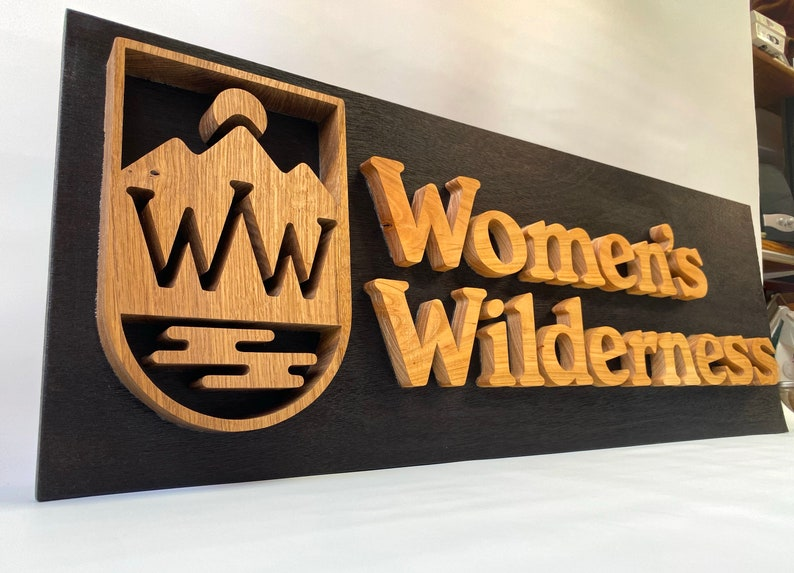 Custom Business Wooden sign