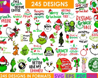 Grinch Svg Etsy