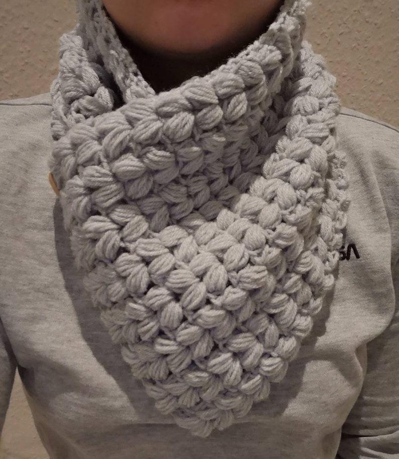 Cuddly scarf collar