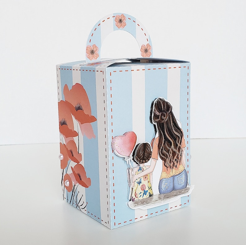 Mother Day Party Supplies Mom and Me Custom. Mother/'s Day party decor Mother/'s Day Theme Mom and Me Personalized Candy Box Favor boxes