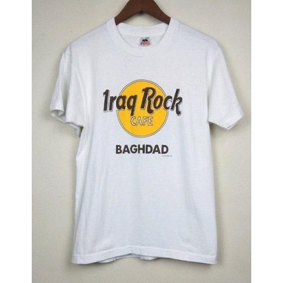 90\u2019s USA Crack Iraq Tee Shirt War In Iraq Shirt Vintage 1990s