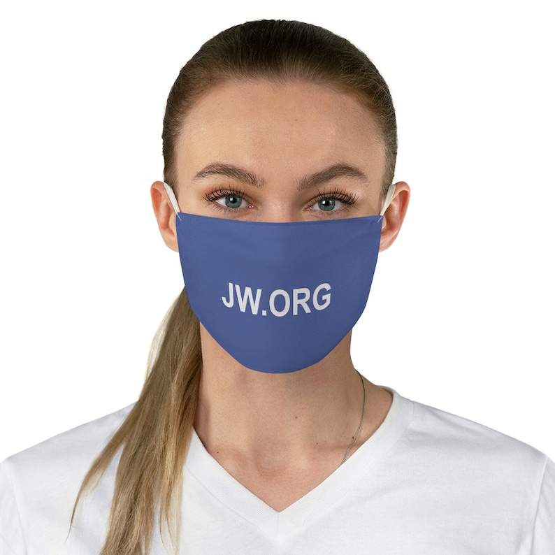 JW Face Mask JW ORG Fabric Face Mask image 0