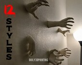 Scary Reaching Hands Wall Mountable Horror Decor !!New Sizes and Styles!!
