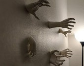 Scary Reaching Hands Wall Mountable Horror !!New Sizes and Styles!!