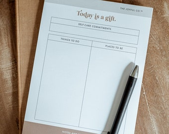 Daily To Do List Notepad,  Minimal Planner, Productivity Planner, Daily Planner Pad, Daily Planner Notepad, Daily Planner, Planner Notepad