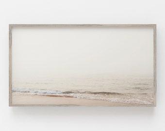 Samsung Frame TV Art   Pastel Beach Art for Frame TV   Beach Digital Art   Coastal Digital Art   Print For Digital Tv   Instant Download